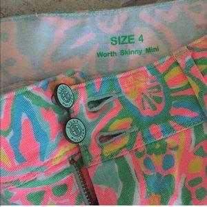 Skinny worth Lilly Pulitzer pants